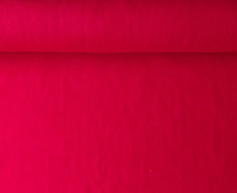 Acrylic felt 45cm wide. 1/2 metre. RED. BS EN 71 part 2 & 3 tested.