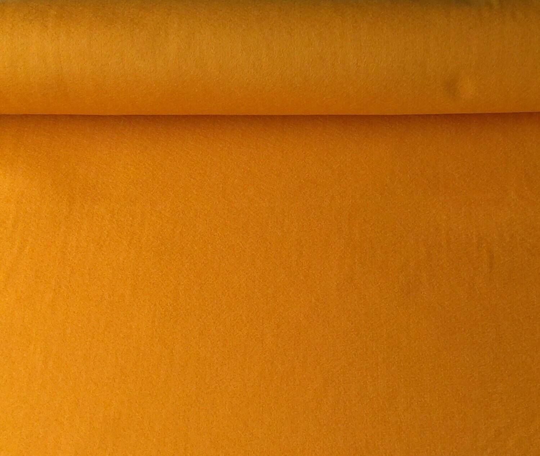 Acrylic felt 45cm wide. 1/2 metre. MUSTARD. BS EN 71 part 2 & 3 tested.