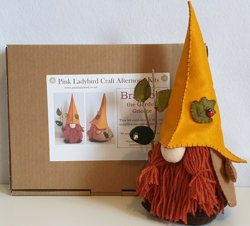 Craft Afternoon Kit - Bramble the garden gnome