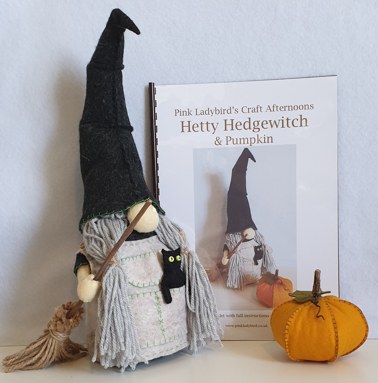 Sewing Pattern Booklet. Hetty Hedgewitch & Pumpkin