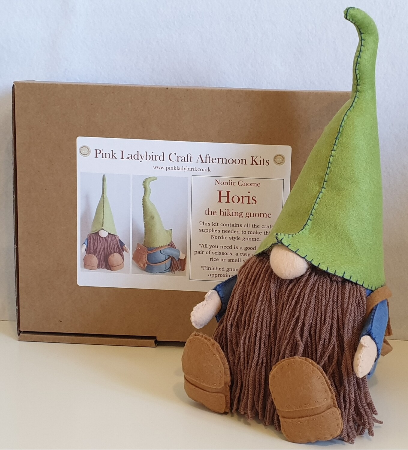 Craft Afternoon Kit - Horis the hiking gnome