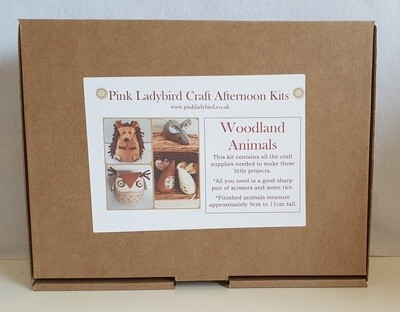 Craft Afternoon Kit - Woodland Animals