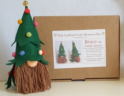 Craft Kit - Craft Afternoon Kit - Bruce the Nordic Spruce