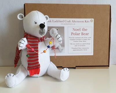 Craft Afternoon Kit - Noel the Polar Bear