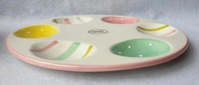Ceramic Egg Plate