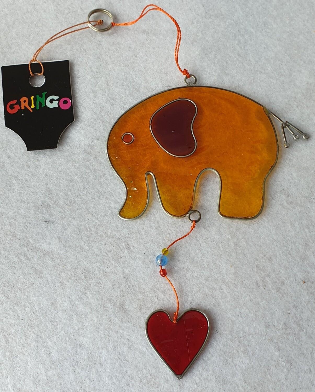 Elephant sun catcher. Gringo