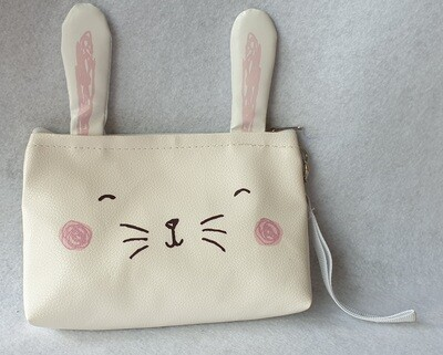Rabbit purse/clutch bag.