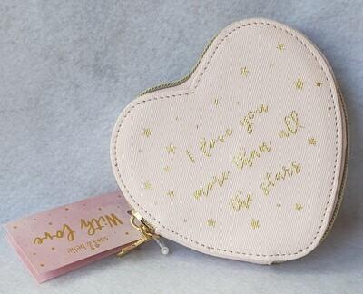 Sass & Belle heart shaped coin purse