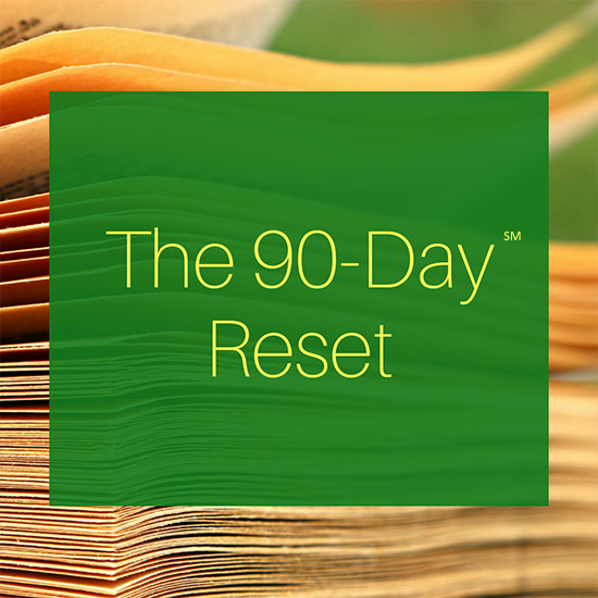 The 90-Day Reset Registration Fee