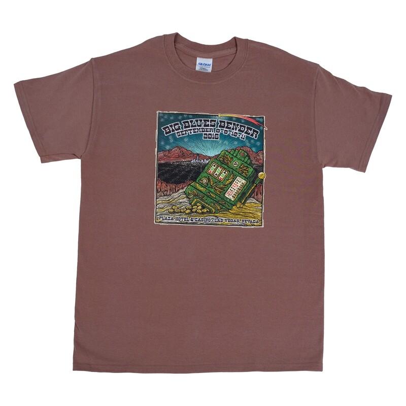 2016 Poster Image T-Shirt, Burnt Orange