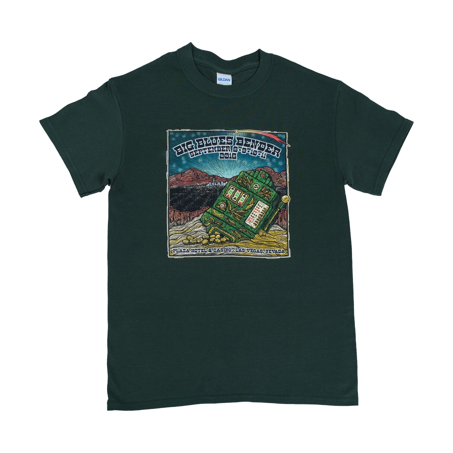 2016 Poster Image T-Shirt, Hunter Green