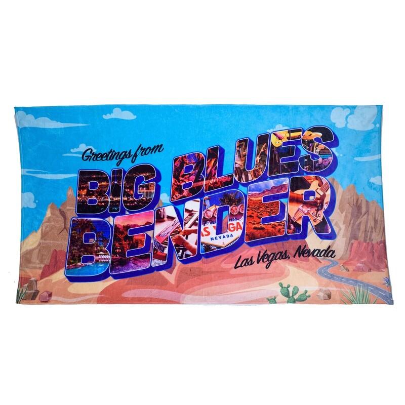 Postcard Beach Towel