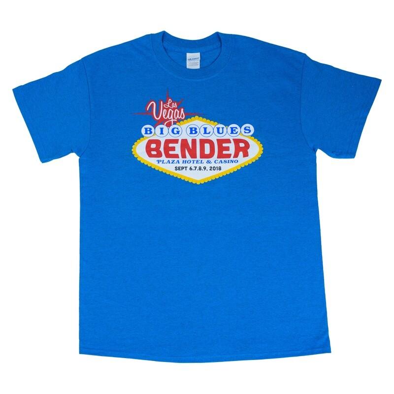 2018 Logo Lineup T-Shirt, Aqua Blue