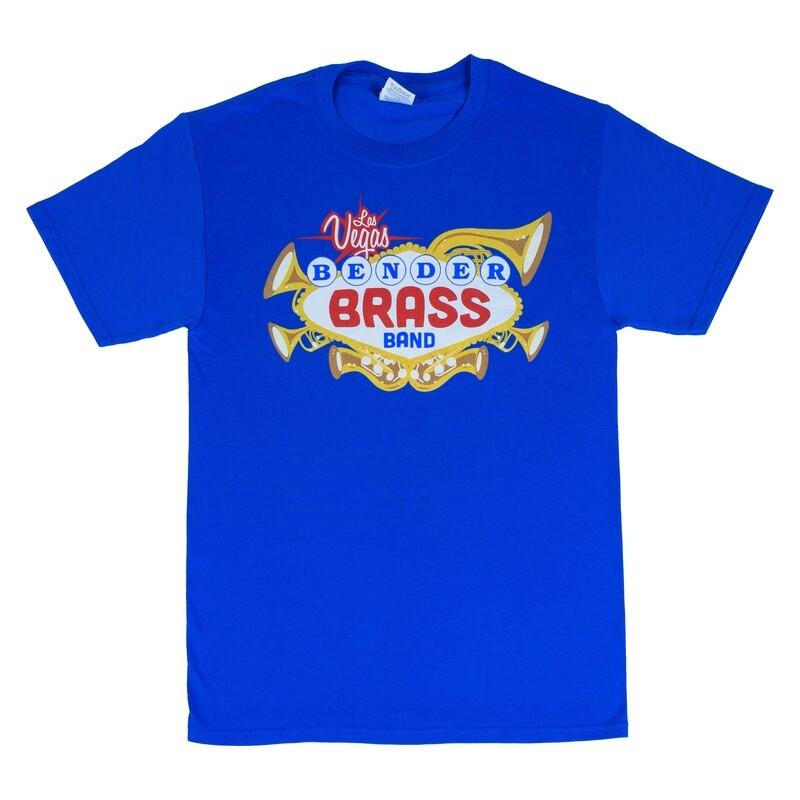 2019 Bender Brass T-shirt, Royal Blue