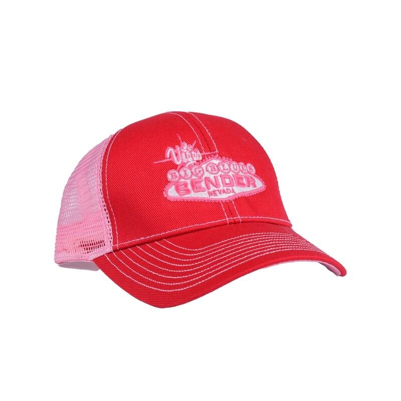 Logo Mono Tone Reds Mesh Back Cap