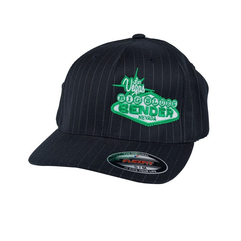 Logo Offset Fitted Cap
