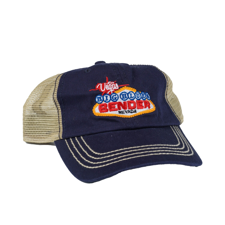 Logo Two Tone Mesh Back Cap