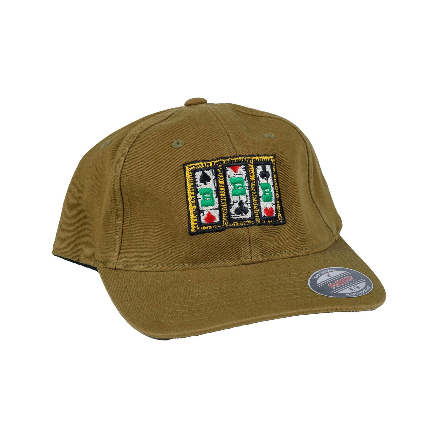 Slot Fitted Cap, Camel