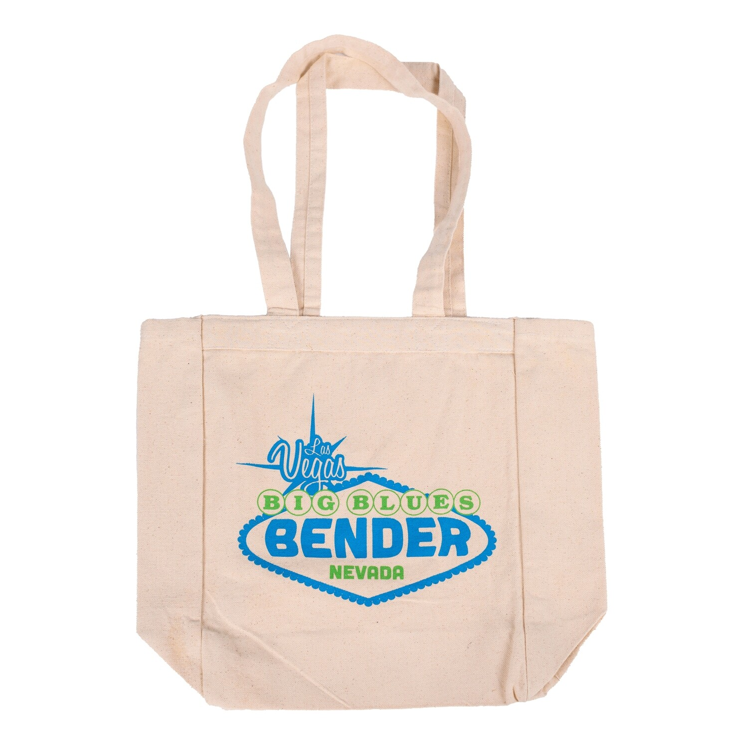 Two Tone Logo Canvas Tote Bag