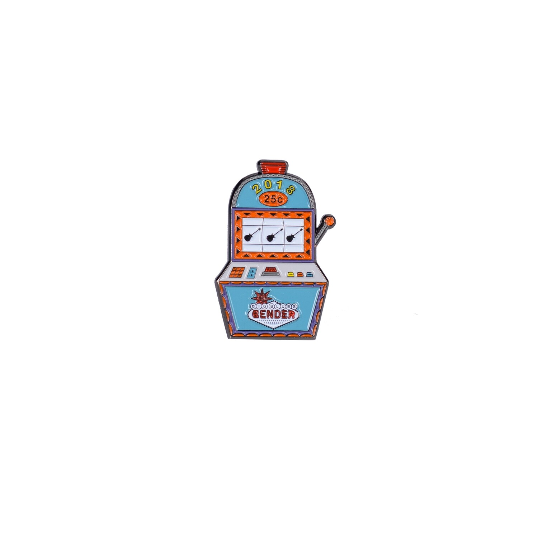 2018 Slot Machine Commemorative Hat Pin