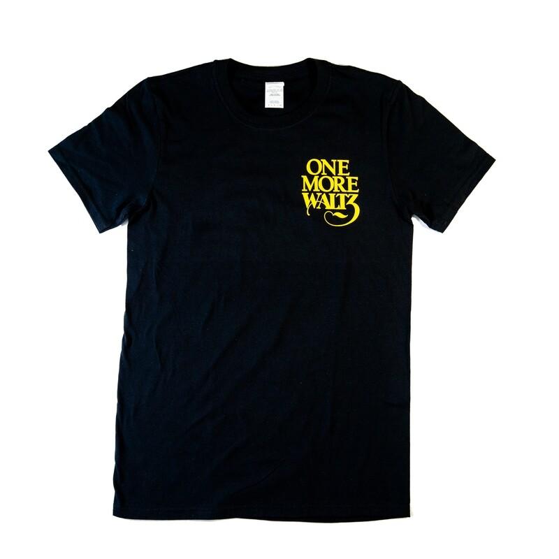 2018 One More Waltz Lineup T-Shirt, Black
