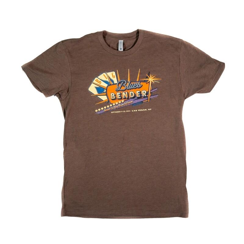 2021 Poster Image T-shirt, Brown