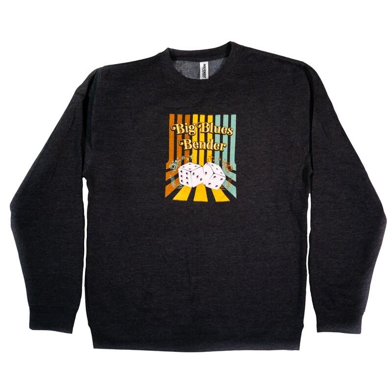 Dice Sweatshirt, Charcoal