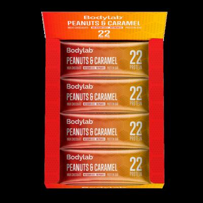 Bodylab Protein Bar - Peanuts & Caramel (12x65 g)
