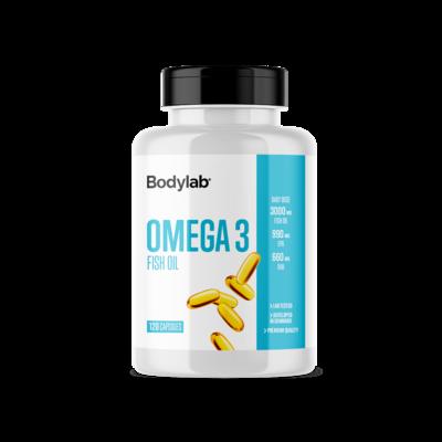 Bodylab Omega3 Fiskeolie (120 stk)