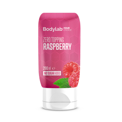 Bodylab Zero Topping - Raspberry (290 ml)