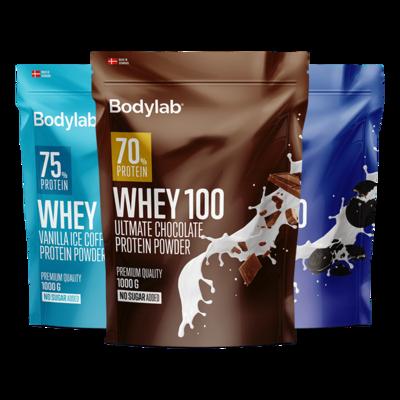 Bodylab Whey 100 Proteinpulver (1 kg)