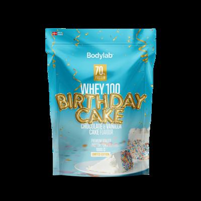 Bodylab Whey 100 - Birthday Cake (1 kg)