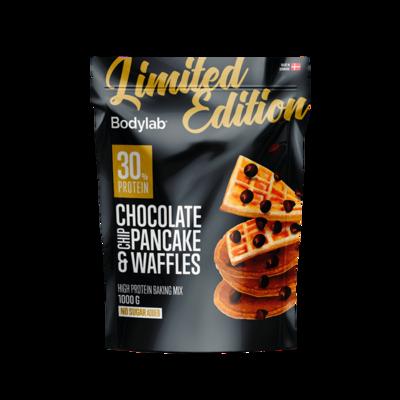 Bodylab Pancake & Waffle Mix (1 kg) – Chocolate Chip Black Edition