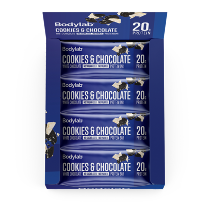 Bodylab Protein Bar - Cookies & Chocolate (12x55 g)
