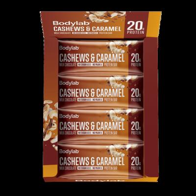 Bodylab Protein Bar - Cashews  & Caramel (12x55 g)