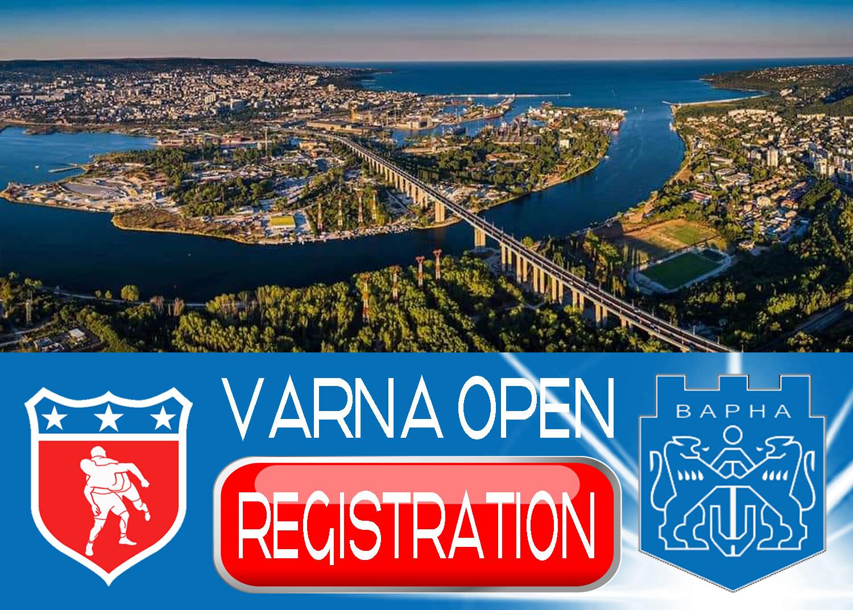 Varna Open Registration