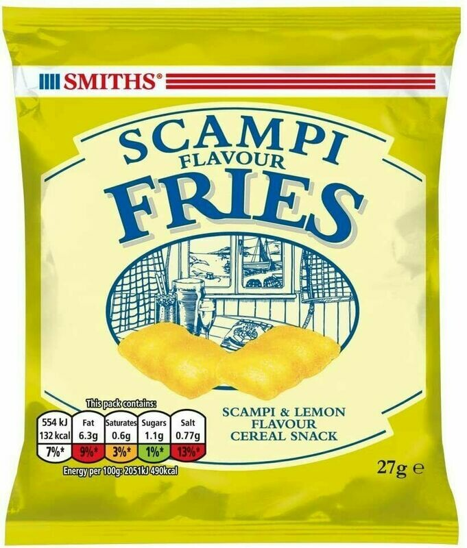 Scampi Flavour Fries 27g