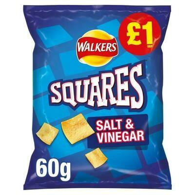 SQUARES Salt & Vinegar 60g