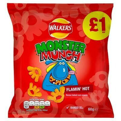 Monster Munch Flaming hot 60g
