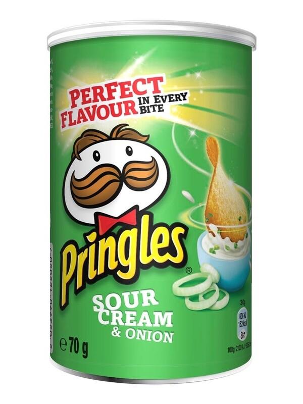 Pringles Original Sour Cream and Onion Grab Size 70g