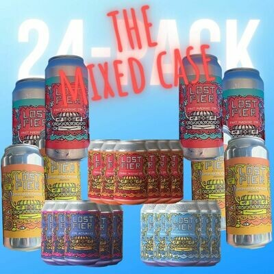 THE MIXED CASE x 24 cans + FREE SHIPPING