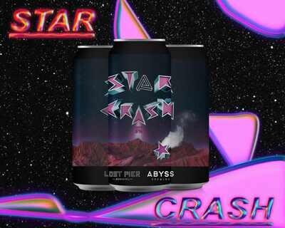 STAR CRASH NEIPA ABYSS COLLAB 440ml