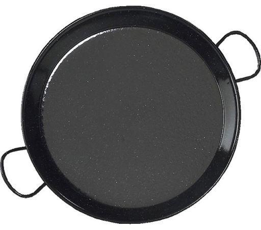 Paella Pan Enamel Steel 36 cm