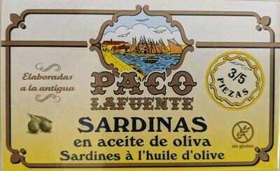 Paco LaFuente Sardines in Olive Oil