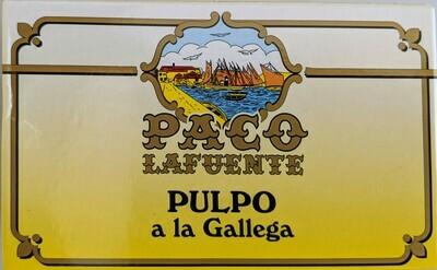 Paco LaFuente Pulpo a la Gallega