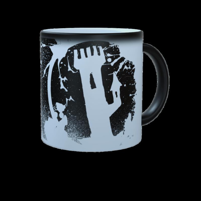 Tower of Doom B&W Mug
