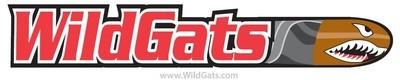 WildGats sticker, UV stabilized for durability