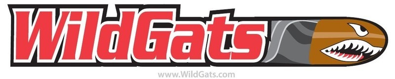 WildGats sticker, UV stabilized for durability