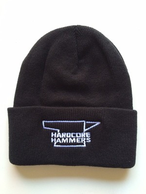 12″ Knit Hat Black