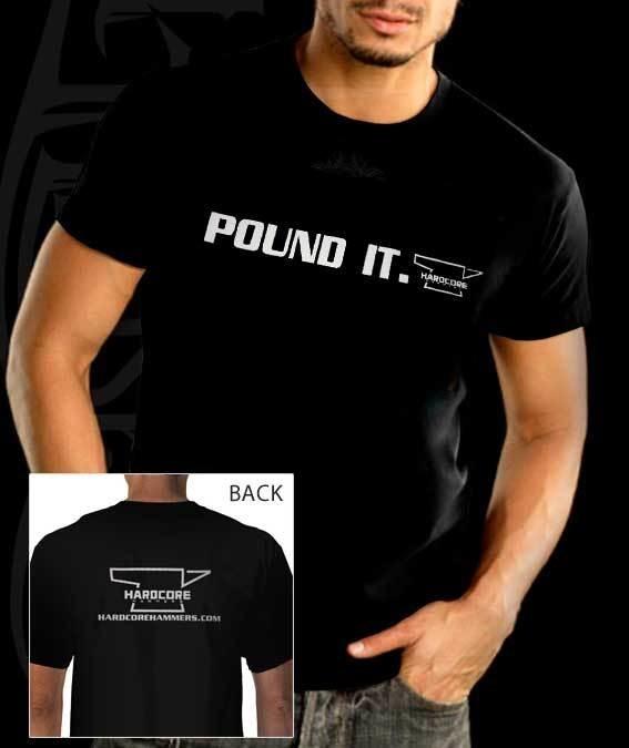 """""""Pound It"""" T-Shirt - Black"""